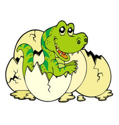 young tyrannosaurus rex vector image