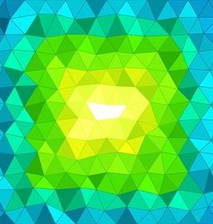 Abstract background of different color figures vector image vector image