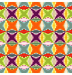 Geometric abstract many colored seamless pattern vector image vector image