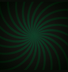 green and black spiral vintage vector image vector image