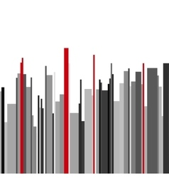 Abstract vertical infographics gray black and red vector