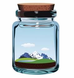 alpine air vector image