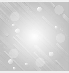 gray and white color geometric modern abstract vector image