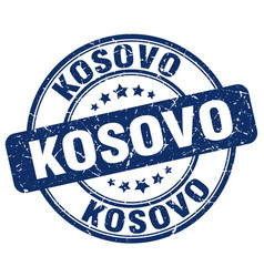 Kosovo stamp vector