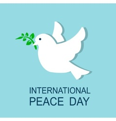 dove symbol of peace vector image