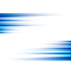 Blue abstract horizonal lines background vector