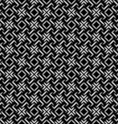 Celtic style 3d geometric seamless pattern vector image