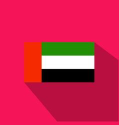 Flag of united arab emirates united arab emirates vector