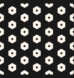 hexagons pattern abstract honeycomb seamless vector image