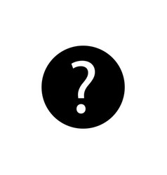 Information support question mark icon signs and vector