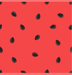 Juicy fruit watermelon pulp with seeds vector