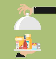Medical concept flat design vector