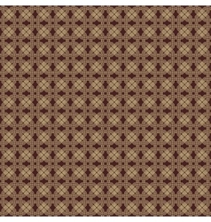Seamless Pattern With Golden Octagons vector