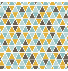 Seamless pattern with random triangles vector