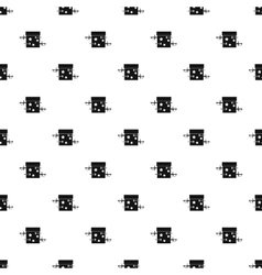 Sword box pattern simple style vector image
