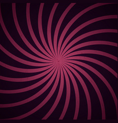 pink and black spiral vintage vector image