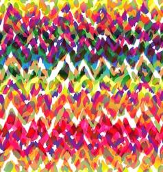 really cool ikat animal seamless texture vector image vector image