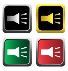 Volume icons set vector image