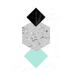 Abstract Geometric Composition vector image vector image