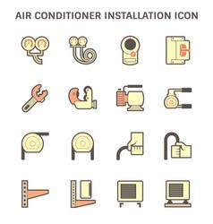 20190414 air conditioner icon 2 red vector