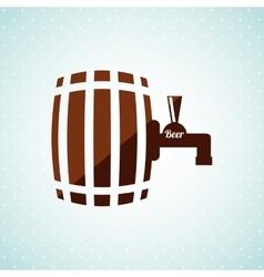 bee icon design vector image