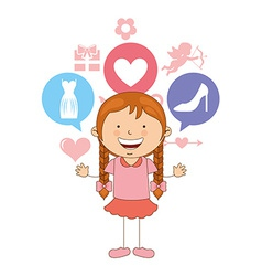 cute children vector image