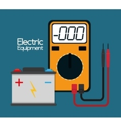 electric equipment and supplies vector image