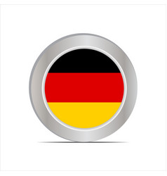 German national flag is isolated in official vector