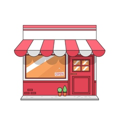 graphic store vector image vector image