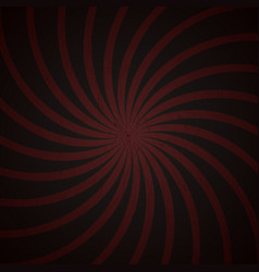 Red and black spiral vintage vector