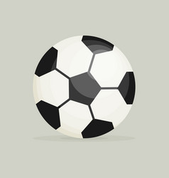 soccer ball soccer ball icon soccer ball flat vector image