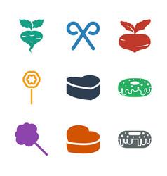 Sugar icons vector