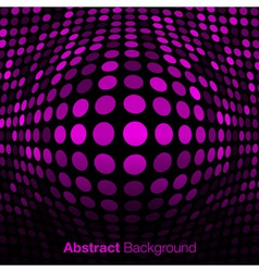 Abstract Pink Technology Background vector image