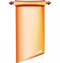 Scroll background vector