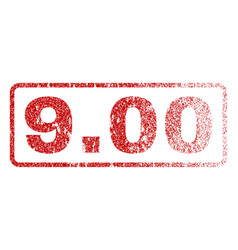 900 rubber stamp vector image