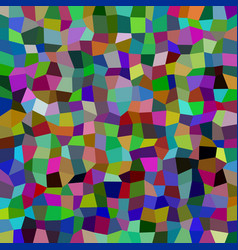 Abstract rectangle tiled mosaic pattern vector