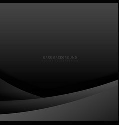 Dark background with simple wave vector