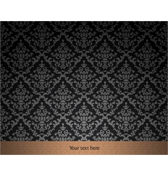 Elegant vintage wallpaper vector