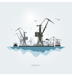 Seaport vector