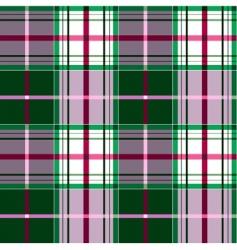 checkered tartan pattern vector image vector image