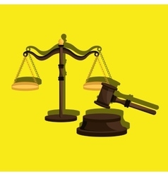 law concept design vector image
