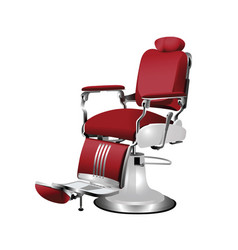 barber chair vector image vector image
