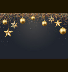 christmas 2017 background vector image vector image