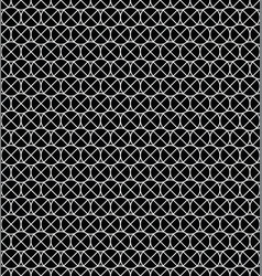 circle pattern with cross vector image
