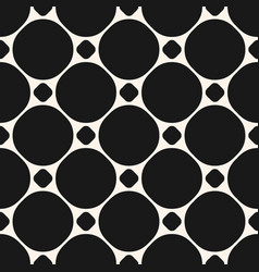 circles seamless pattern geometric texture with vector image