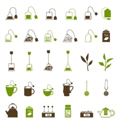 Coffee and Tea cup icon vector image