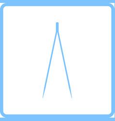 Electric tweezers icon vector