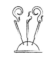 Incense stick icon image vector