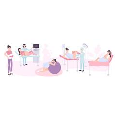 Maternity design concept vector