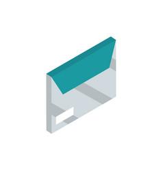 office envelope correspondence postal mail vector image